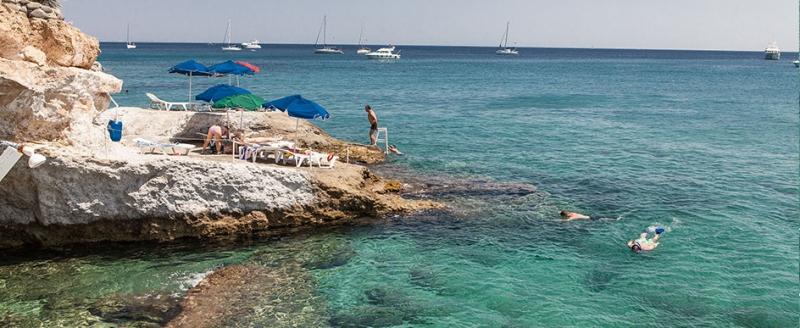 Agia Marina Rocky Beach