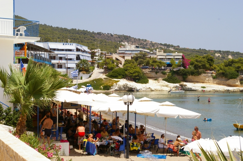 Agia Marina Sandy Beach