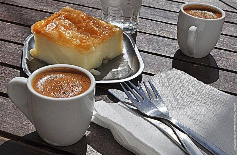 galaktoboureko (custard pie)