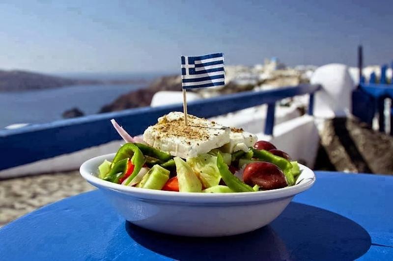 real Greek salad
