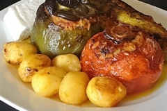 Gemista (stuffed tomatoes & peppers)