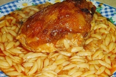 chicken giouvetsi