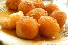 loukoumades (greek honey donuts)