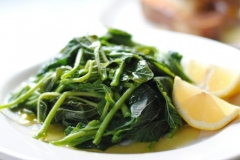 horta (boiled greens)