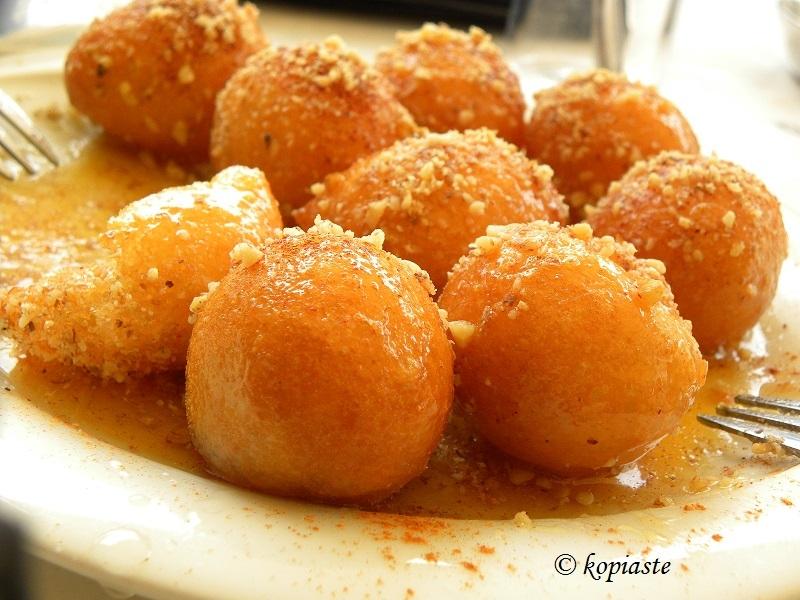 loukoumades (greek honey donuts)