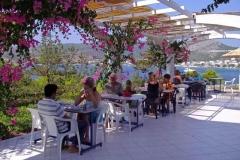 Breakfast at Kavos Bay