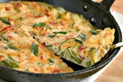 garden fresh omelette