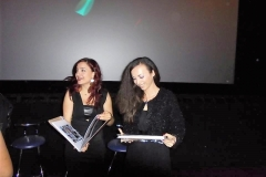 The film directors (Angeliki Angelidis & Kyriaki Fotiadou)
