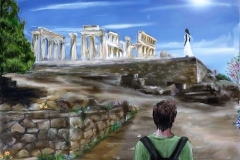 Scene at the Temple of Aphaia