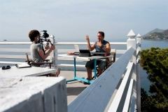 Andrew Kristy (music composer) & Alex Tabrisi (film producer)
