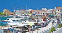Aegina Town Seafront